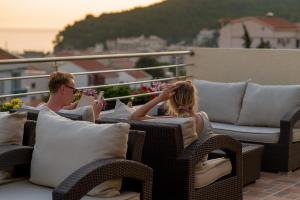 A balcony or terrace at Hotel WGrand