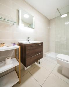 A bathroom at The Atholl Palace