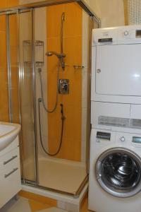 A bathroom at Apartmán Lipánek