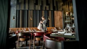 A restaurant or other place to eat at InterContinental Perth City Centre