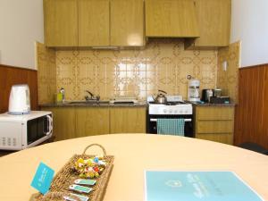 Kuchyňa alebo kuchynka v ubytovaní Casa Buena Vista Tandil
