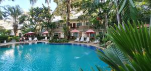 The swimming pool at or near The Viridian Resort
