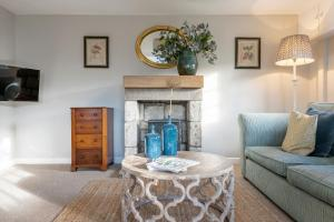 A seating area at Tucking Mill View- Self Catering