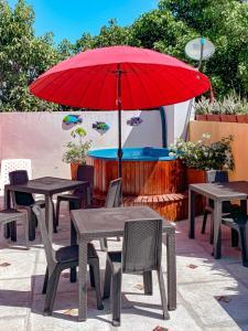 Um restaurante ou outro lugar para comer em Zana Hotel Boutique