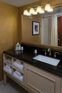 A bathroom at DoubleTree by Hilton Biltmore/Asheville