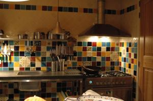 A kitchen or kitchenette at B&B Isola Bella