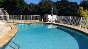 The swimming pool at or near southern