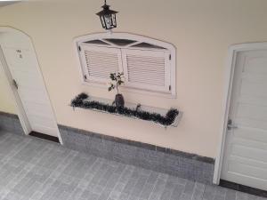A bathroom at Rosas dos Ventos Suites