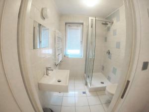 Kylpyhuone majoituspaikassa Lalala