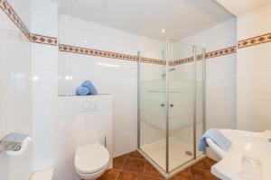 Koupelna v ubytování Hocheggerhof - Urlaub am Kinderbauernhof