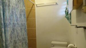 A bathroom at Hacienda Tropical Guest House