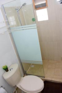 Um banheiro em Cozy caribbean studio with optional SUV 1