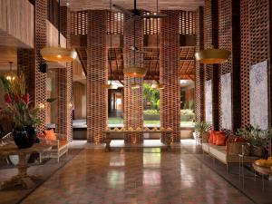 The lobby or reception area at Amnaya Resort Benoa