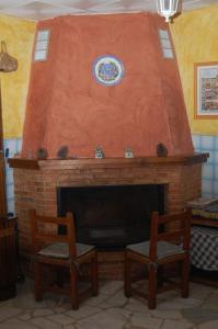 El vestíbulo o zona de recepción de Complejo de Turismo Rural Monte Replana
