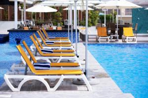 The swimming pool at or near C Central Hotel and Resort The Palm