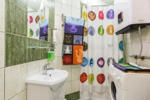 Ванная комната в On Nevsky Prospekt Apartment
