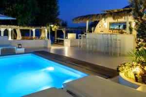 The swimming pool at or near Alesahne Beach Hotel