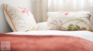 Cama o camas de una habitación en Los Balcones