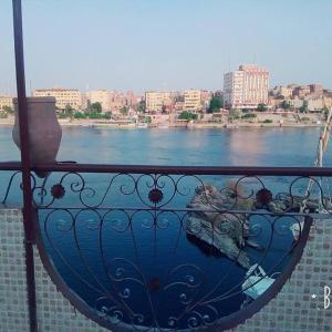 A balcony or terrace at El-amin