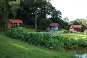 Um jardim em Pousada Pinhal Alto