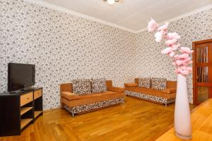 A seating area at Apartment on Lenin Avenue