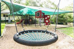 Children's play area at The Retreat Port Stephens