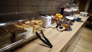 Ein Restaurant oder anderes Speiselokal in der Unterkunft Grimur Hotel