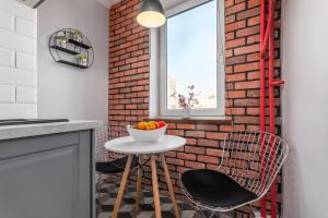 Posezení v ubytování Apartament Zielna by Your Freedom