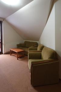Posezení v ubytování Apartment Bílé Labe