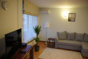 Posezení v ubytování Szucha Residence Apartment