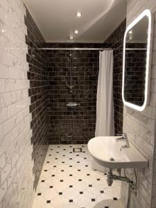 Ett badrum på Tokeryds Herrgård