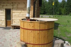 Spa and/or other wellness facilities at Bērzu Pirts