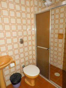 A bathroom at Hostel Nova Orla