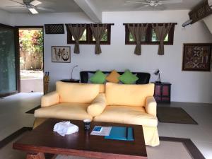 A seating area at Ekhaya Private Villas & Suites Palawan
