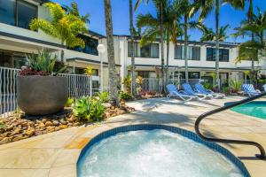 The swimming pool at or near Noosa Place Resort