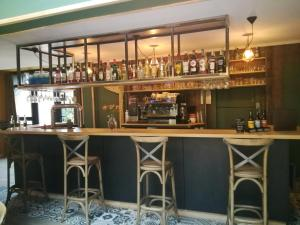 The lounge or bar area at HOTEL RESTAURANT CIRIUS