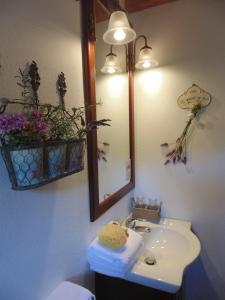 A bathroom at Lithea Villas and Studios by the Sea