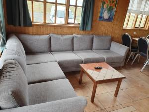 A seating area at Guesthouse Stöng and Cottages