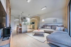 Część wypoczynkowa w obiekcie Apartamenty Sun & Snow Sopocka Rezydencja