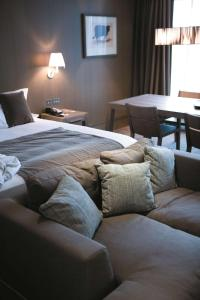 A bed or beds in a room at Radisson BLU Royal Hotel Dublin