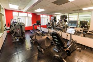 The fitness center and/or fitness facilities at Radisson On John Deere Commons Moline