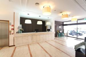The lobby or reception area at Legendary Lisboa Suites