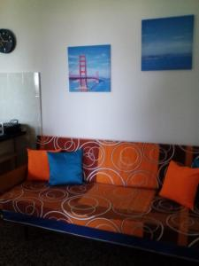 A seating area at Apartments Laura