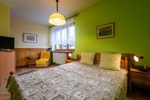 Posteľ alebo postele v izbe v ubytovaní Privat Dana