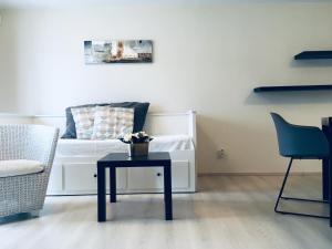 A seating area at Apartmány Bella Vista Lipno