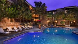 The swimming pool at or near Aiden by Best Western @ Austin City Hotel