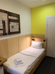 Cama o camas de una habitación en Wood Design Hotel