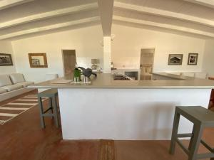 A kitchen or kitchenette at Spinguera Ecolodge