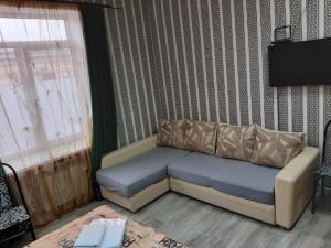 Hotel Kuban Vostokにあるシーティングエリア