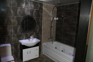 A bathroom at Goryeo Hotel